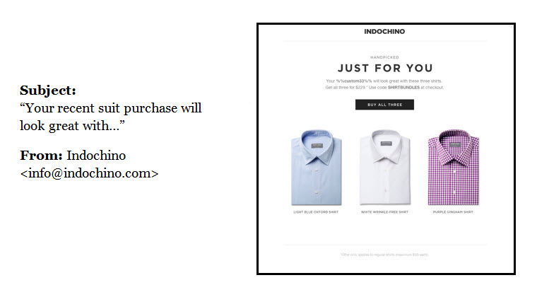 1 product increases conversion rates