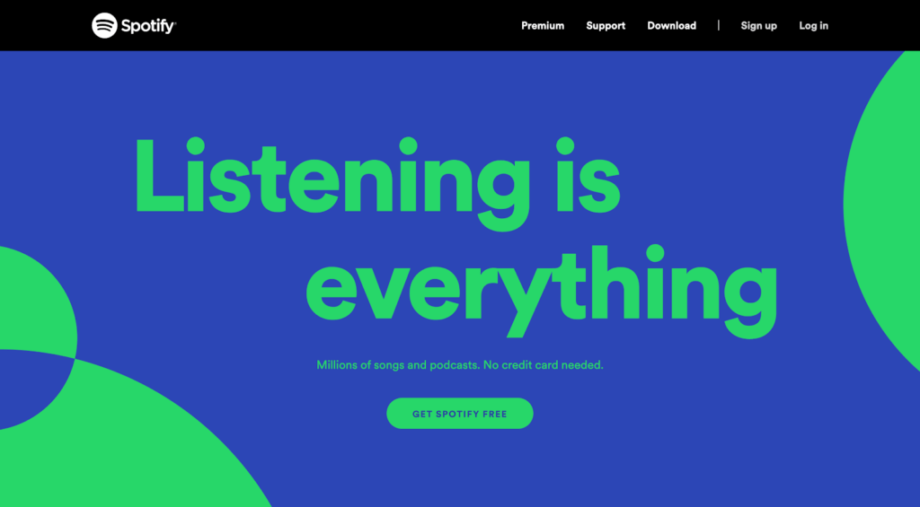 Spotify splash Twin Front