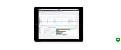 sage crm tablet interface