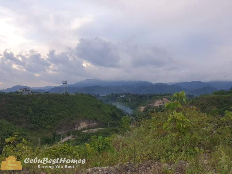 Overlooking Lot for Sale in Consolacion Cebu
