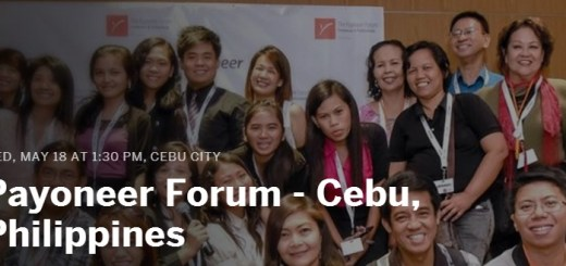 The Payoneer Forum in Cebu on May 18 | Cebu Finest