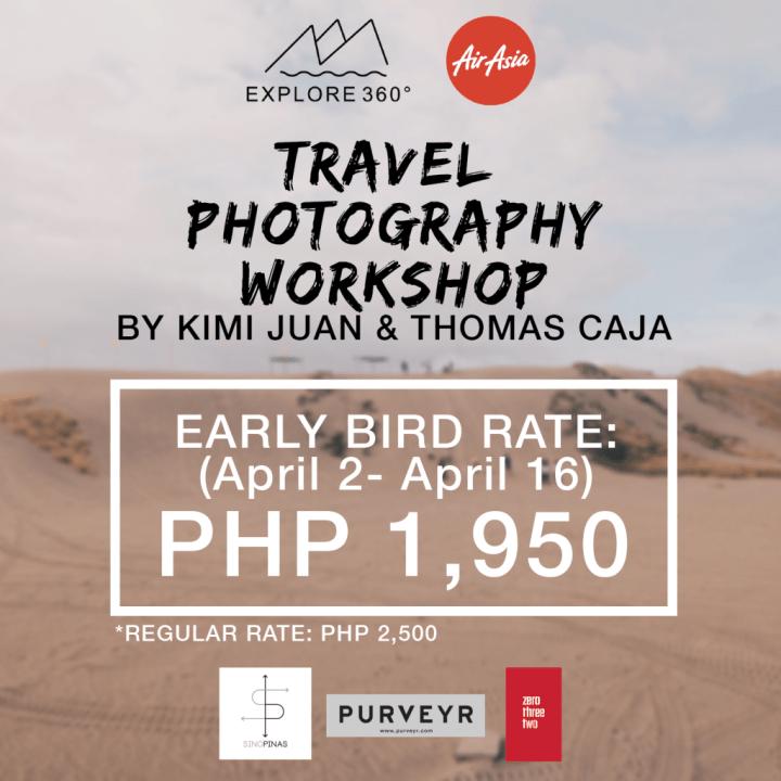 Explore 360 Travel Photography Workshop in Cebu   Cebu Finest