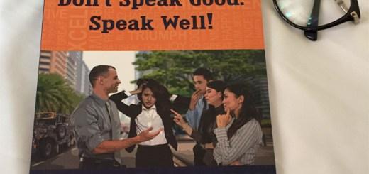"Book Review: Don't Speak Good. Speak Well! (The ""Nosebleed"" Edition) | Cebu Finest"