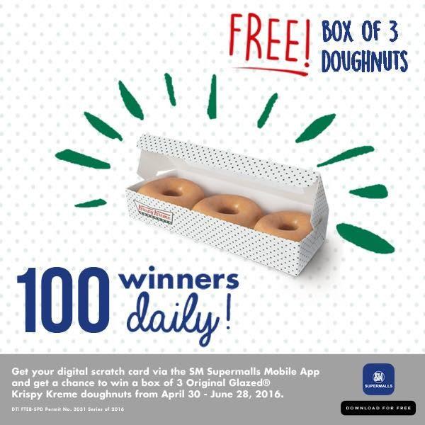 The Biggest Free Doughnuts Treat from SM Supermalls and Krispy Kreme! | Cebu Finest