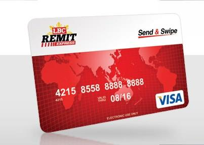 The LBC Send and Swipe Card | Cebu Finest