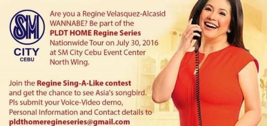 PLDT Home Regine Series Nationwide Tour in Cebu | Cebu Finest