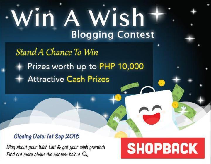 Win A Wish Blogging Contest with ShopBack Philippines | Cebu Finest