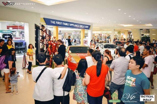 The Iron Man Car: It's every superhero's fan's dream car now in Cebu