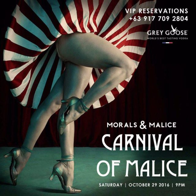 """Get Wicked this Halloween with """"Carnival of Malice"""" at Morals and Malice   Cebu Finest"""