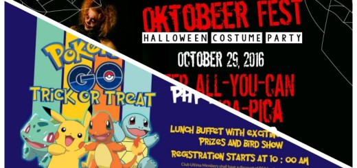 The Pokemon Go and Creepy Halloween Costume Party with Crown Regency Hotel Cebu | Cebu Finest