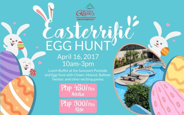 Easter Egg Hunting at Crown Regency Hotel & Towers   Cebu Finest