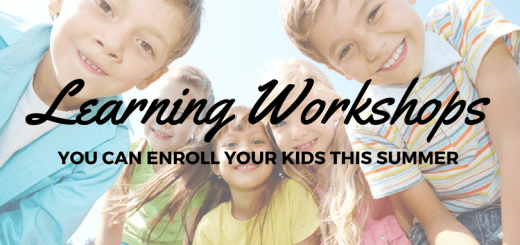 Learning Workshops you can enroll your Kids this Summer | Cebu Finest