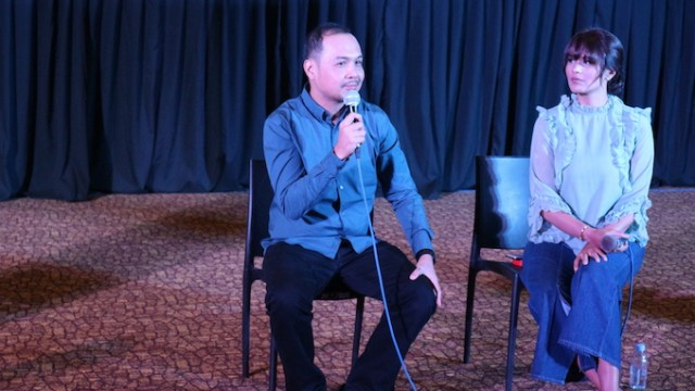 Iza Calzado, Jerrold Tarog visit Cebu City to promote new movie, Bliss   Cebu Finest