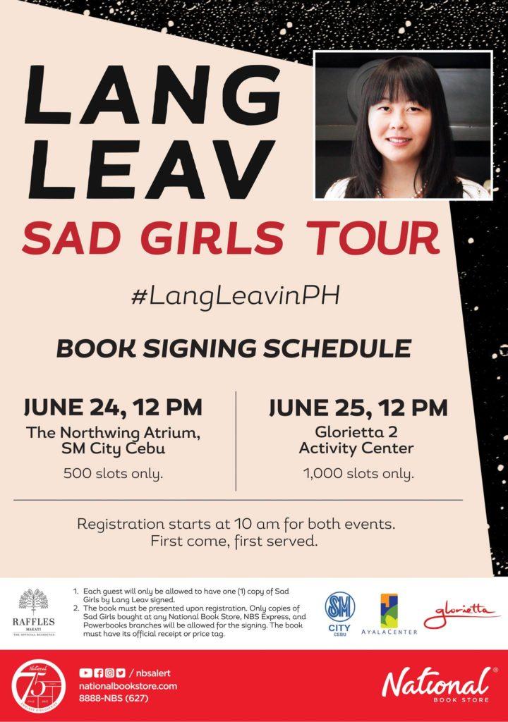Bestselling author, Lang Leav, on weekend at SM City Cebu | Cebu Finest
