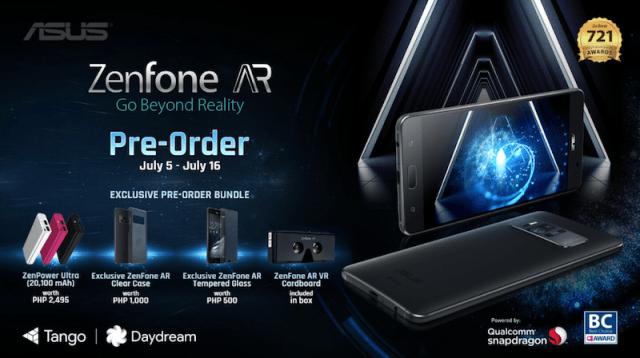 ASUS Zenfone AR is now in PH, world's first 8GB RAM Tango/Daydream-powered smartphone   Cebu Finest