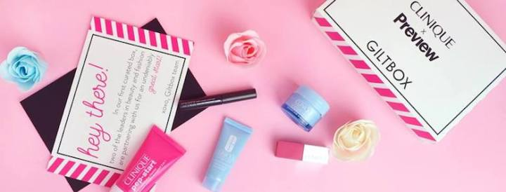 Giltbox collaborates with global brand, Clinique, for its curated subscription box | Cebu Finest