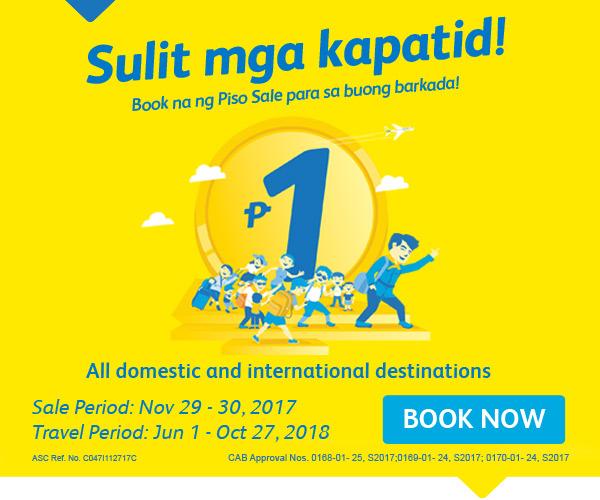 """Cebu Pacific opens """"Sulit mga Kapatid"""" Piso Fare Promo   Cebu Finest"""