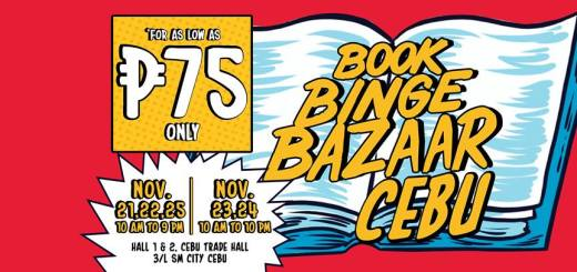 Book Binge Bazaar with National Book Store: Great reads and great finds in Cebu | Cebu Finest