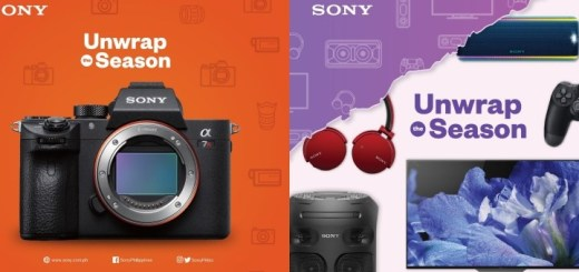 "Sony Philippines goes on sale for the ""Unwrap The Season"" Christmas Promo 
