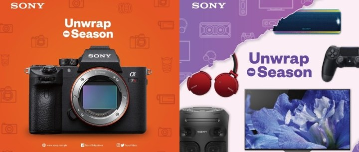 """Sony Philippines goes on sale for the """"Unwrap The Season"""" Christmas Promo 