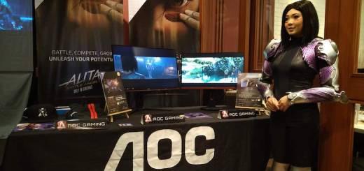 "AOC Monitors teams up with Twentieth Century Fox for ""Alita: Battle Angel"" Release | Cebu Finest"