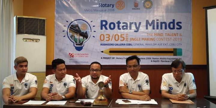 Rotary Minds: The Minds, Talents and Jingle-Making Contest on its 3rd Year | Cebu Finest