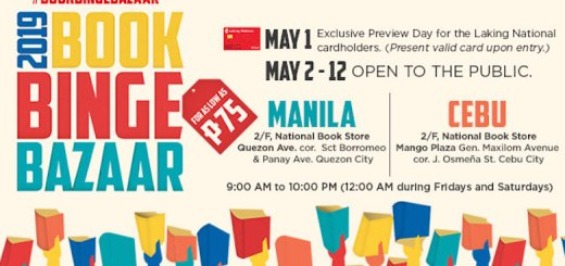 National Book Store brings its Book Binge Bazaar back to Manila and Cebu | Cebu Finest