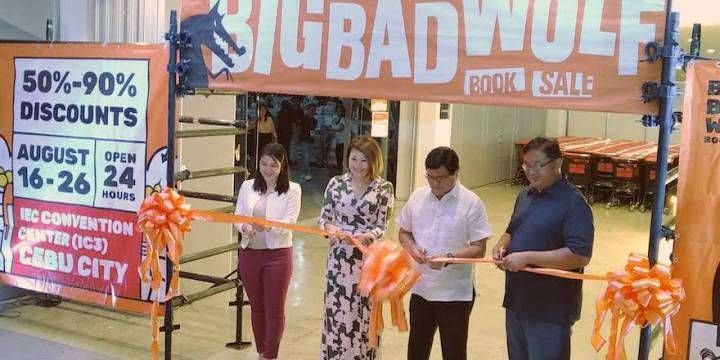 NOW OPEN: The Big Bad Wolf Book Sale Cebu 2019 officially launches today | Cebu Finest