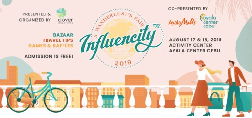 """Influencity: A Wanderlust's Fair"", booths, games, and prizes at Ayala Center Cebu 
