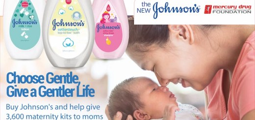 Spread gentleness with JOHNSON'S® and Mercury Drug stores | Cebu Finest