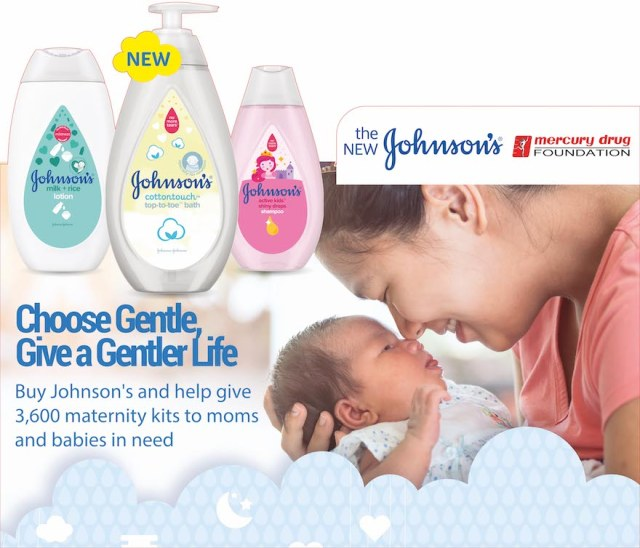 Spread gentleness with JOHNSON'S and Mercury Drug stores | Cebu Finest