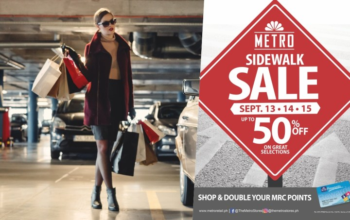 The Metro Sidewalk Sale launches with Exclusive September Deals | Cebu Finest