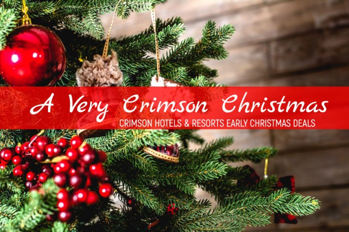 A Very Merry Crimson Christmas: Early Holiday Deals from Crimson Hotels and Resorts | Cebu Finest