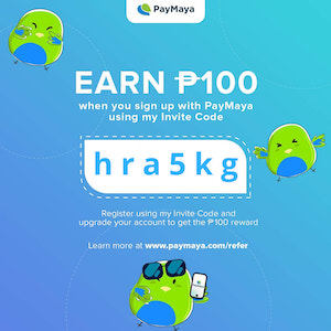 "Get ""Better than Cash"" rewards when you use PayMaya QR this holiday season 