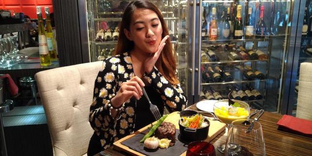 Marble + Grain Steakhouse's Filet Mignon for Lunch   Cebu Finest