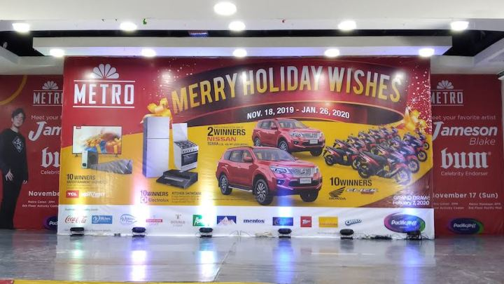 Metro Retail Stores' Merry Holiday Wishes with lots of amazing prizes for Christmas   Cebu Finest