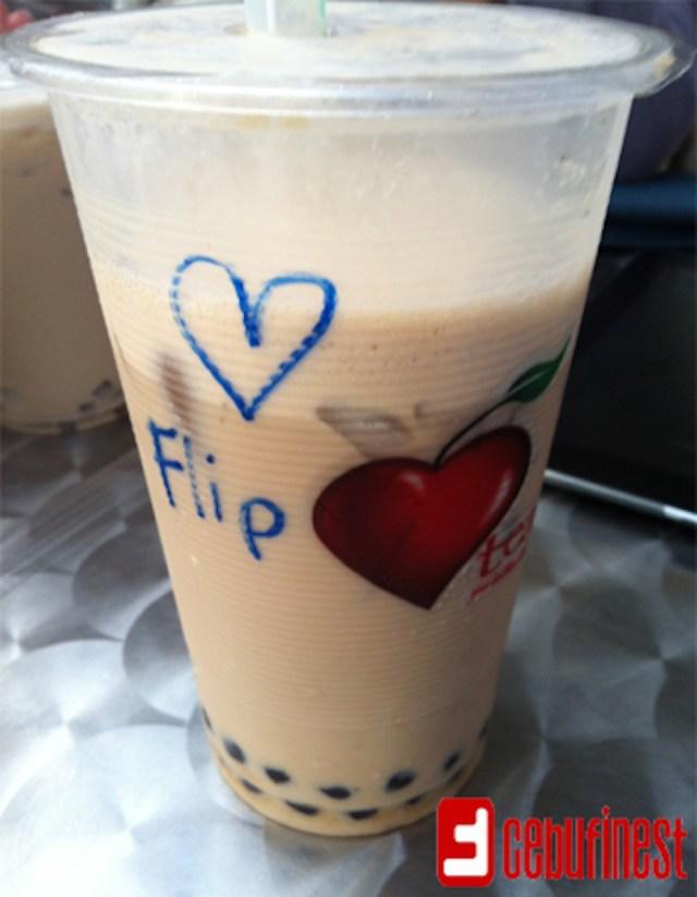Our first milk tea experience was at Heart Tea | Cebu Finest