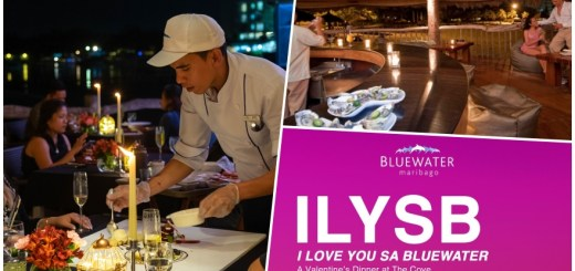 I Love You sa Bluewater, A Valentine's Dinner at The Cove | Cebu Finest