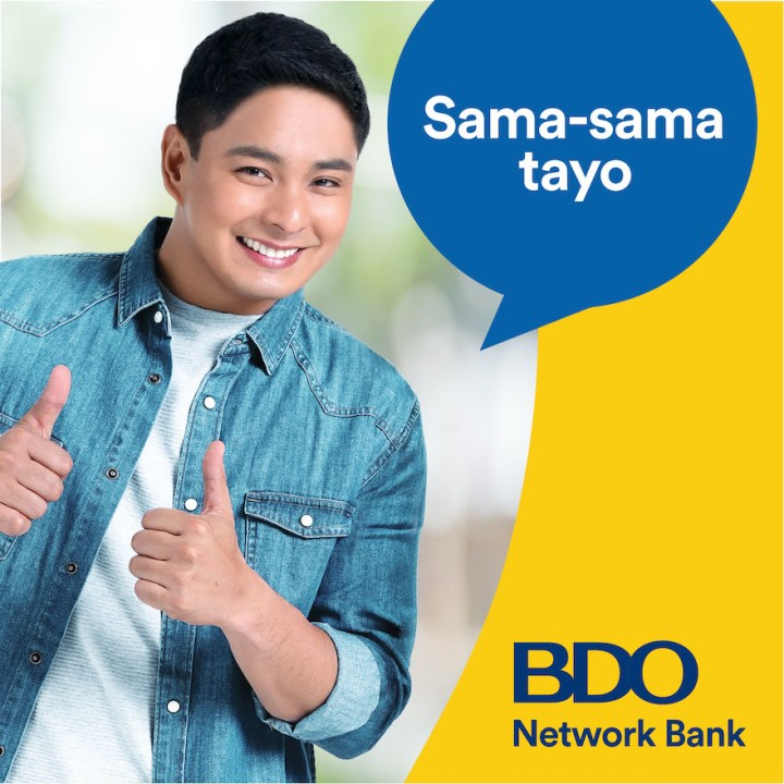 "Why ""Ang Probinsyano"" hero Coco Martin partners with BDO Network Bank 