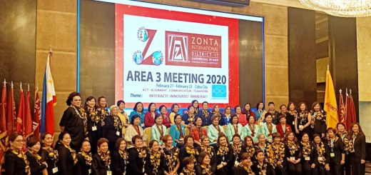 Zonta Clubs of Cebu 1 & 2 spearhead Zonta District 17 Area 3 2020 Meeting | Cebu Finest