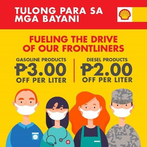 Shell fuels up Visayas frontliners to keep them on-the-go | Cebu Finest