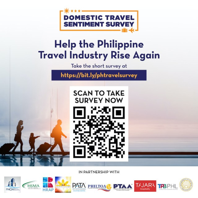 Hospitality and Travel Stakeholders Take On Domestic Travel Sentiment Survey | Cebu Finest