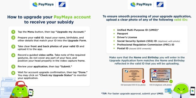 Receive your SSS wage subsidies and loan proceeds conveniently via PayMaya   Cebu Finest