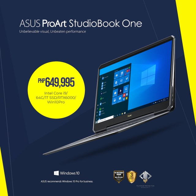 ASUS ExpertBook B9 and ProArt StudioBook Series now available in the Philippines | Cebu Finest