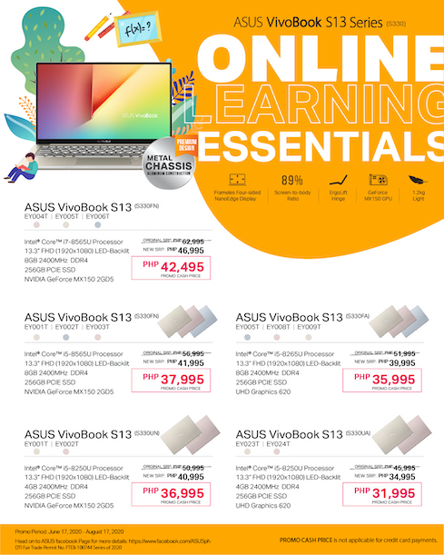 Massive Price Drops on ASUS VivoBook S Series! | Cebu Finest