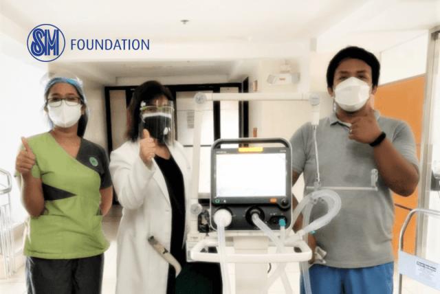 SM Foundation (SMFI) donates 25 ICU-grade ventilators to hospitals with high COVID-19 cases across the country | CebuFinest