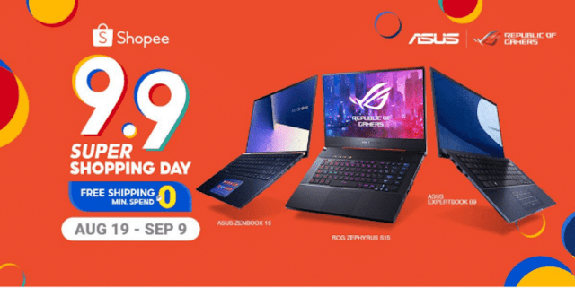 Feel the holiday season as early as September, as ASUS and the ASUS Republic of Gamers (ROG) join the Shopee 9.9 Super Shopping Day! | CebuFinest