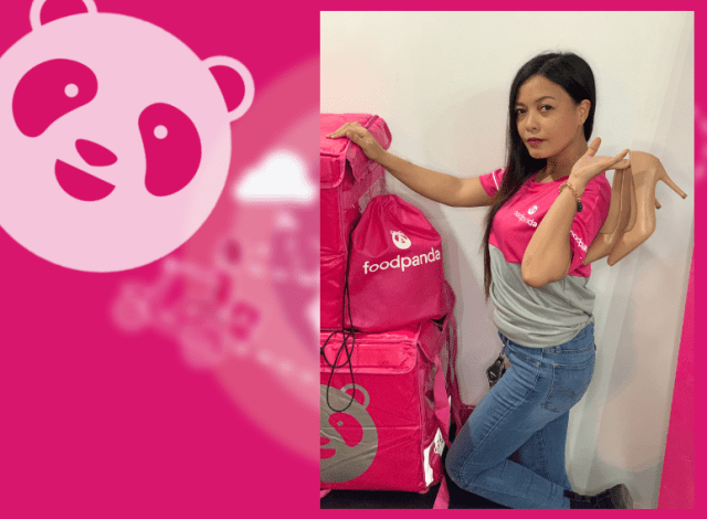 Among the growing number of female foodpanda riders is Mylene Bahinting. | CebuFinest