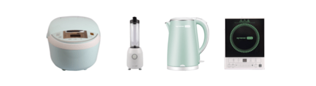 XTREME Small Appliances: Multi-cooker, Personal Blender, Electric Kettle, and Induction Cooker | CebuFinest