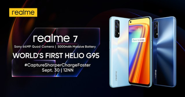 Joining the realme 7 Pro in the brand's latest number series is the realme 7 | CebuFinest